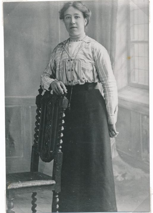 Jessie Burton (later Mrs George Squires)