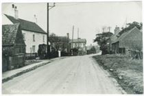 Main St. towards the canal (late 1940s?)