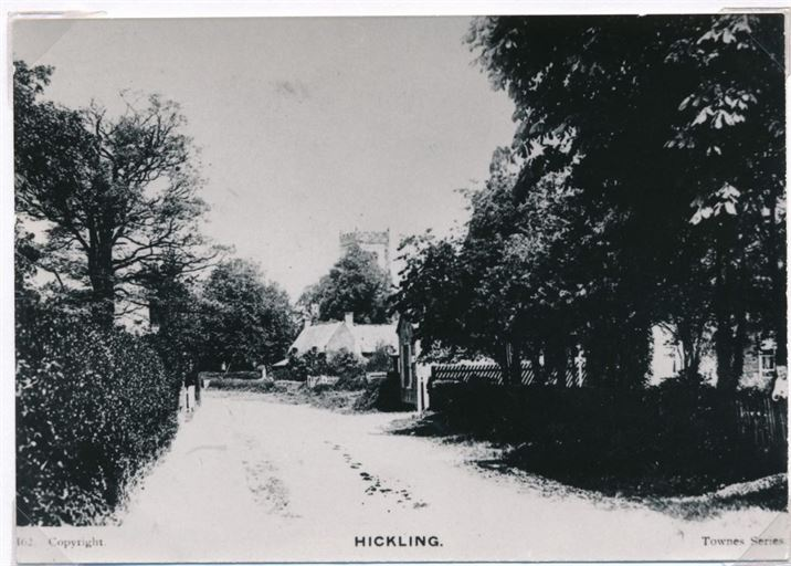 Main St. towards Church (1920s)