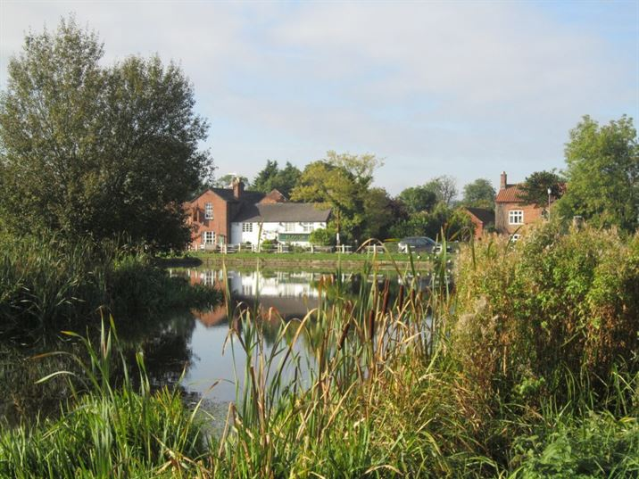 Hickling Canal Basin & The Plough Inn