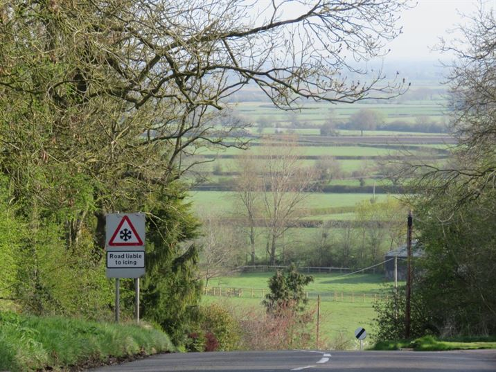 Vale of Belvoir from the top of Bridegate Hill