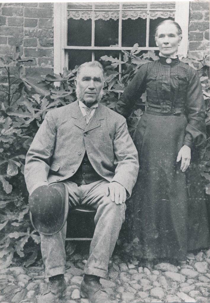 W0003a Mr & Mrs George Harriman