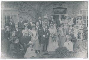 W0052a Wedding of Lizzie White & Ernest Shelton
