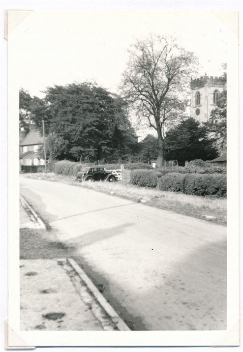 W0124a Glebe Cottage, Church Gates, Church (1956)