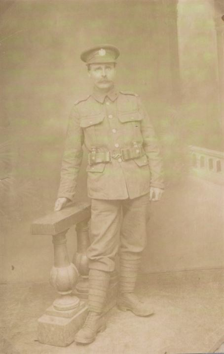 W0164a Jack Squires WWI