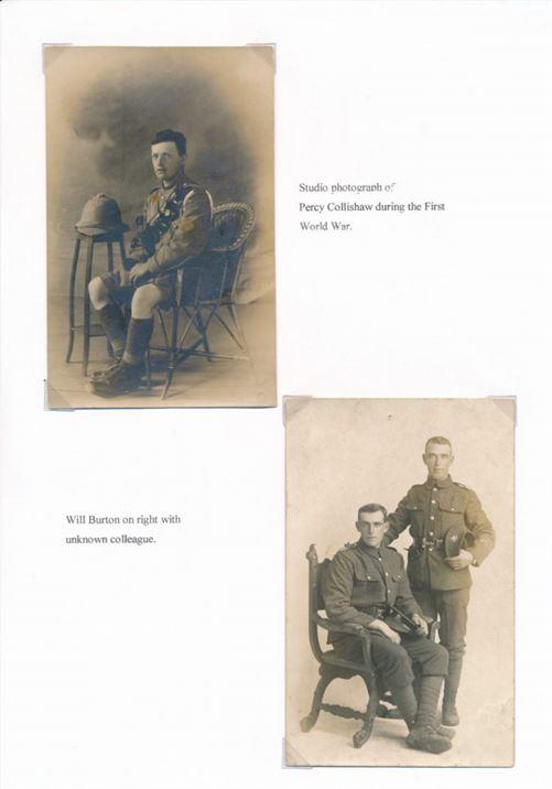 W0166 Percy Collishaw WWI Will Burton WWI
