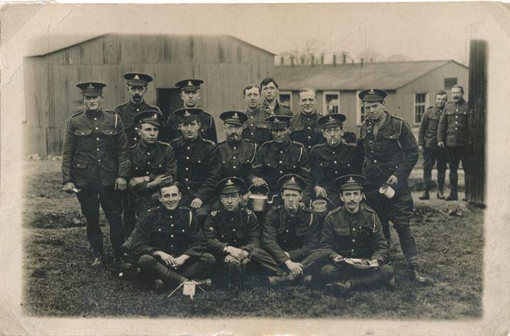 W0167a Percy Collishaw WW1
