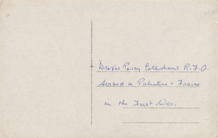 W0167bb Percy Collishaw WW1