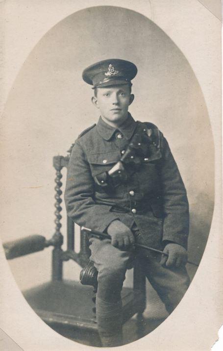 W0168a Percy Collishaw WWI