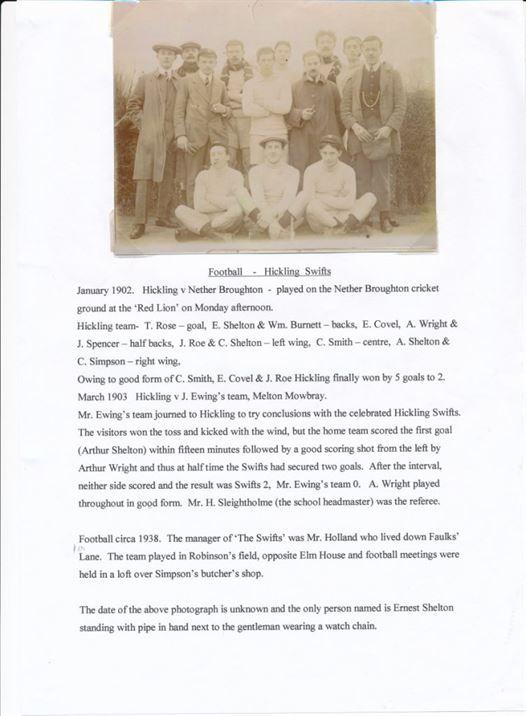 W0416 Football Club 1902/03 & 1938