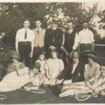 W0431a Rectory Tennis Court 1920s