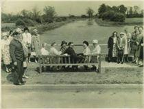 W0449a WI Golden Jubilee Bench 1965