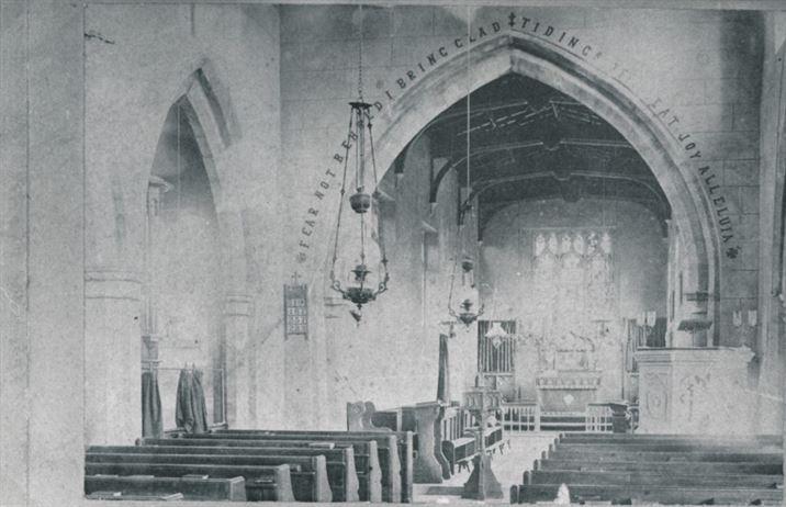W0924a Church interior pre-1888