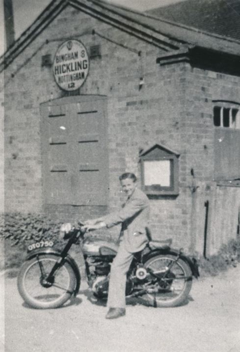 W1210a Keith Wadkin Rose Cottage (& butcher's shop) date?