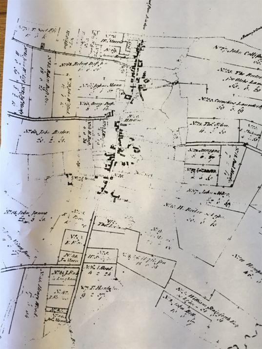 Enclosure Map 1777