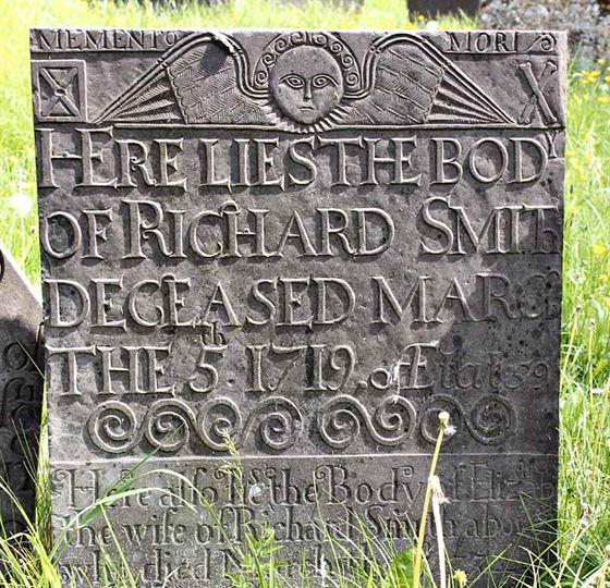 CG: Belvoir Angel gravestone