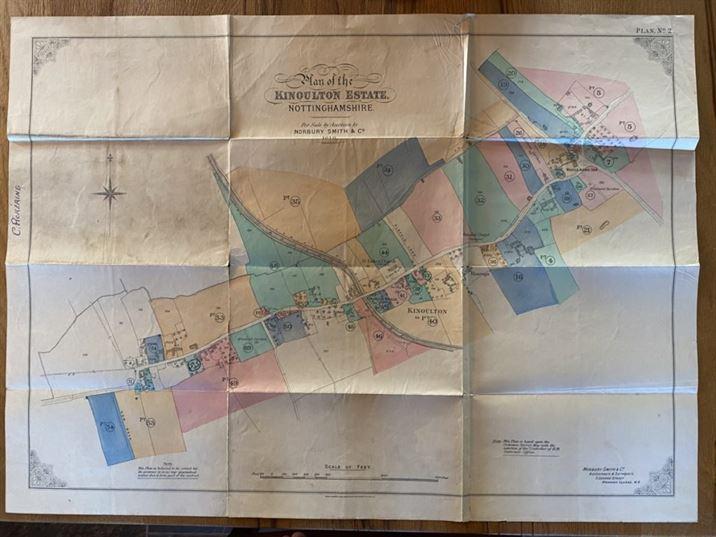 Charles Pickering Kinoulton Estate Auction: Plan 2