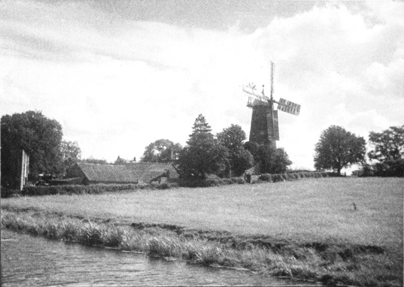 Beauties of the Grantham Canal 3: Harby Mill (GCS)