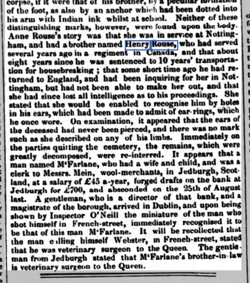 1853 7th October Nottingham Journal Ann Rouse identifying body report 5