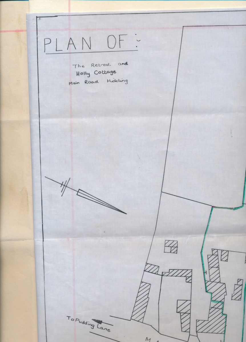 Hodson's Yard: 1960 conveyance