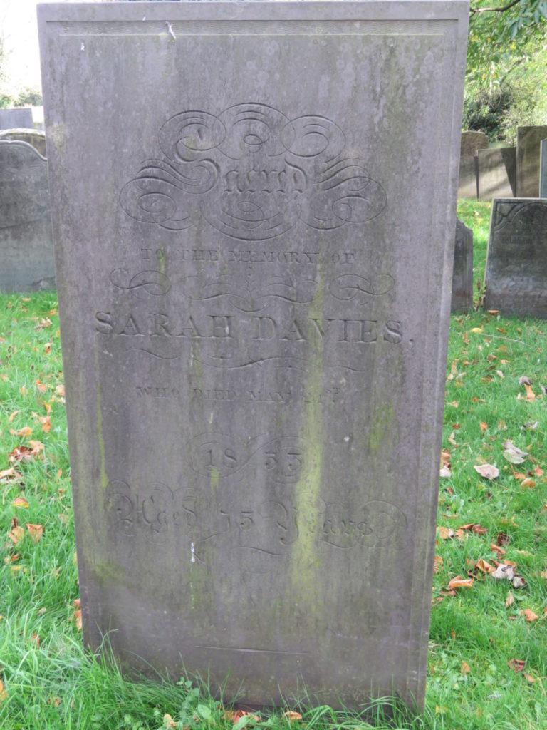 Sarah Davies (d.1853)