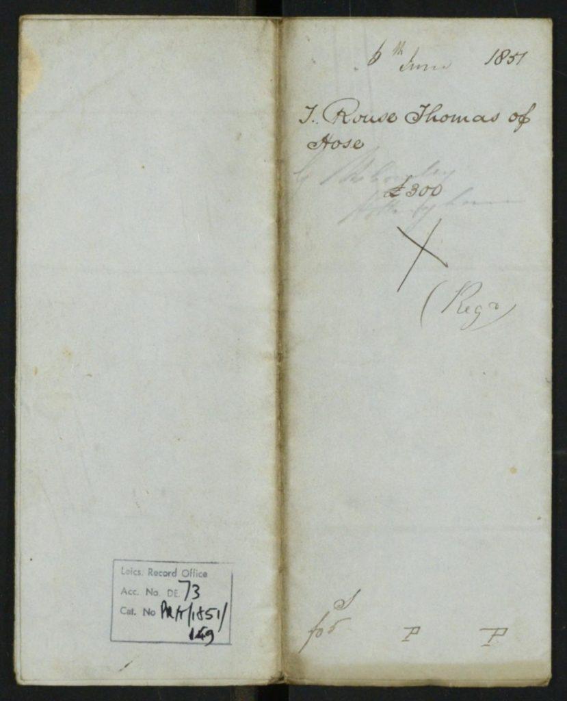 Thomas Rouse Will 1851 1