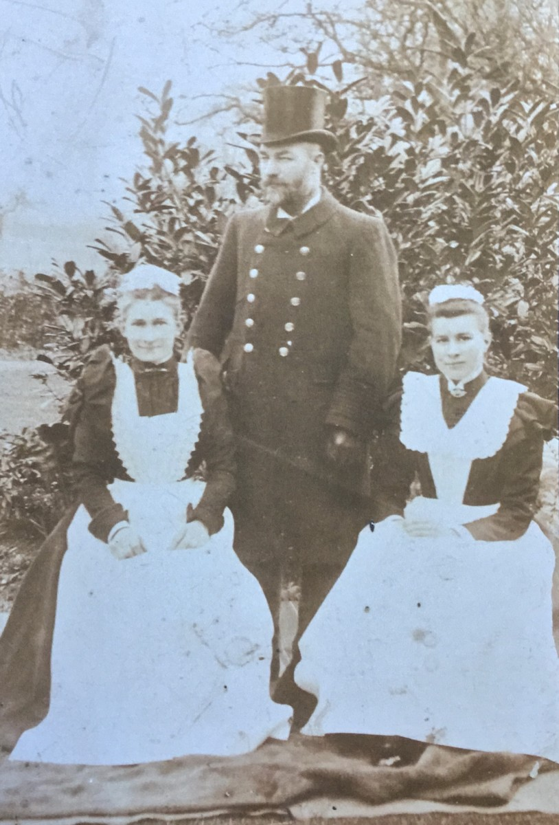 George & Martha Wiles at The Rectory (Norton family)