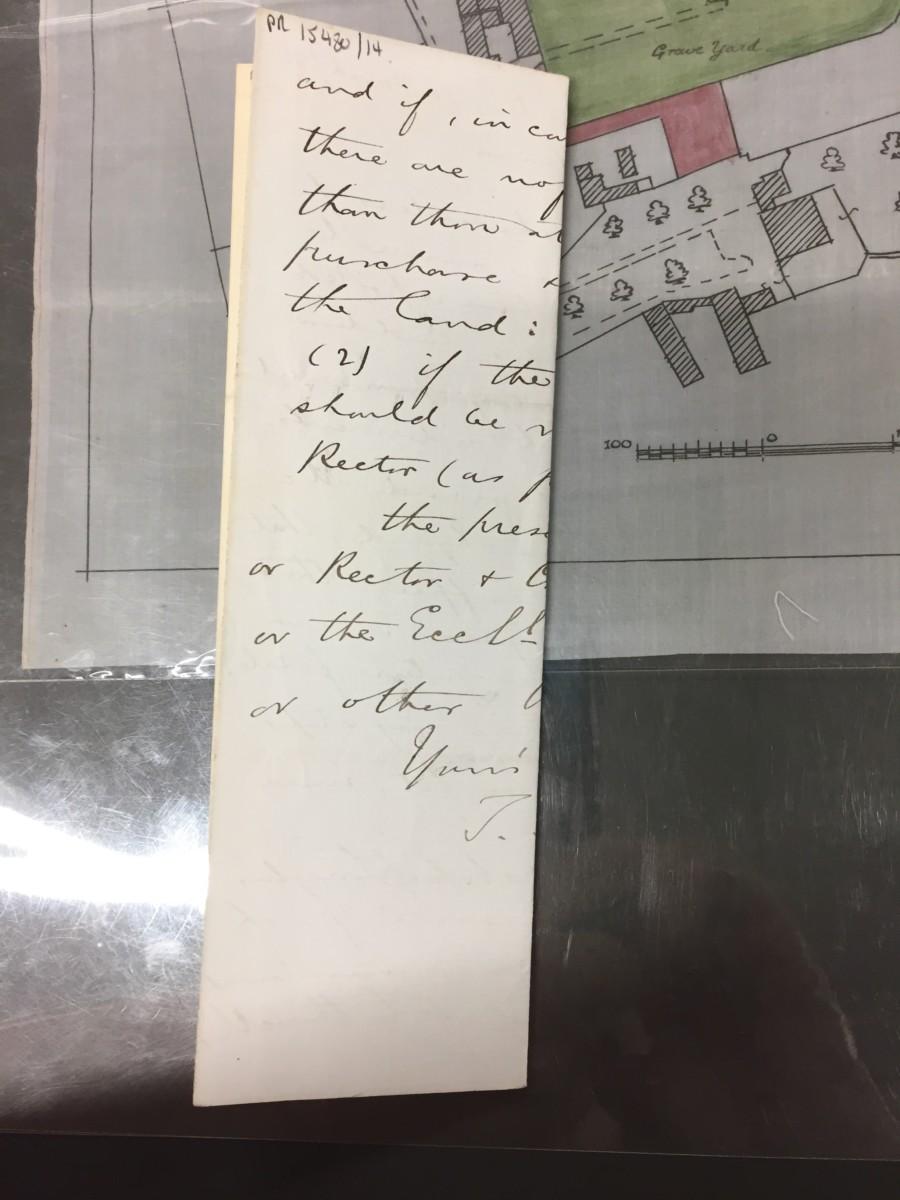 Churchyard Correspondence: May 9th1885
