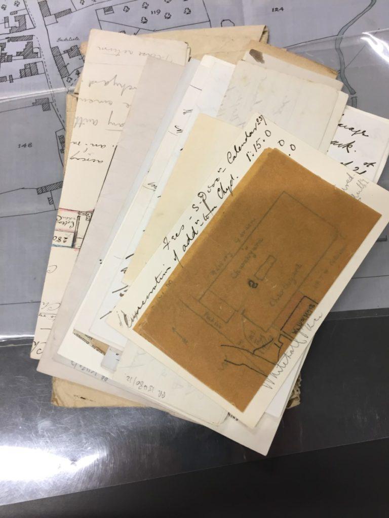 Churchyard Correspondence: 1885 - 1927