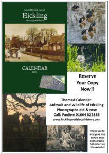 Calendar 2022: Animals & Wildlife (£7.50)
