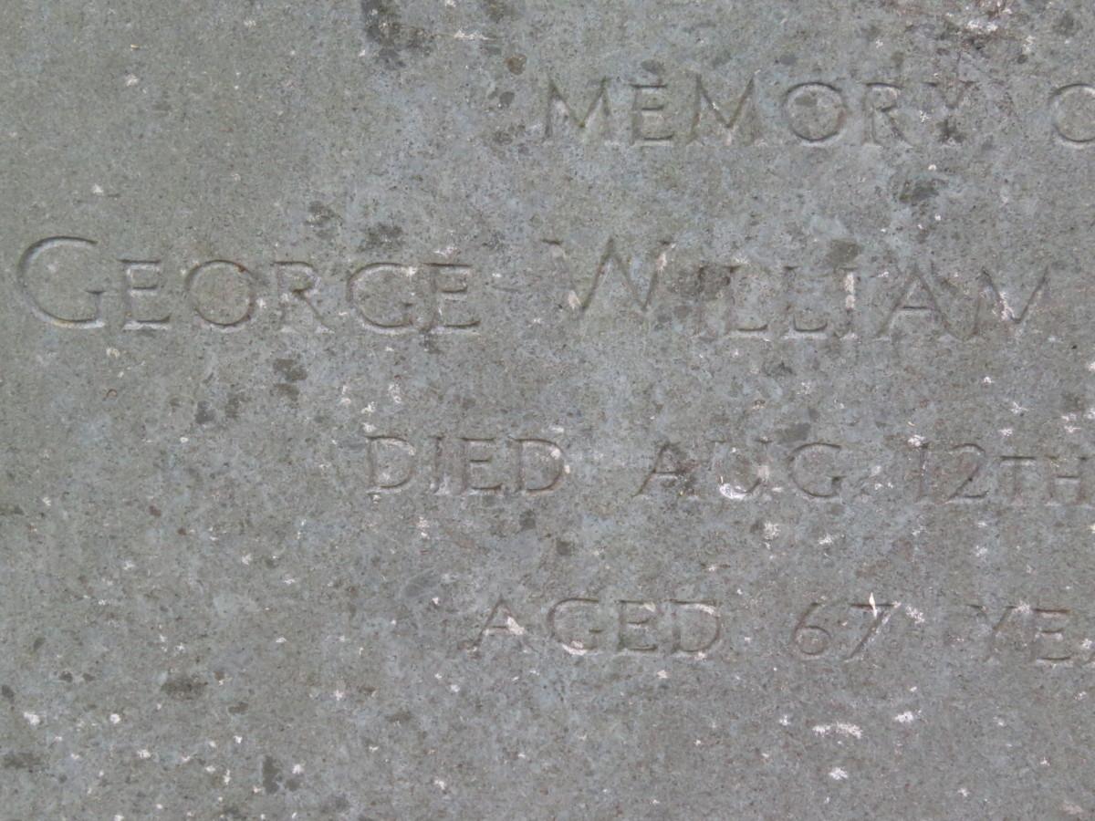 George Starbuck d.1974