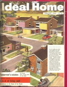 Ideal Home magazine cover 1960 (DDimbleby, How We Built Britain)