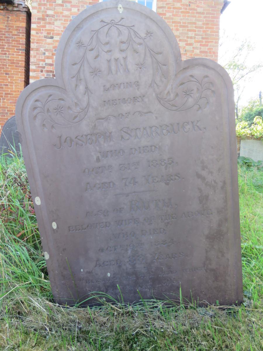 Joseph d.1885 & Ruth Starbuck